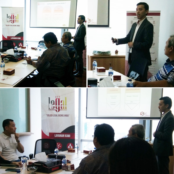 Mini Workshop LDD Legal Due Diligent at 88Office Meeting Room